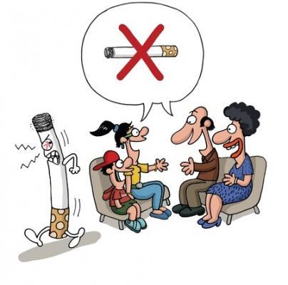Alain Carrhae il libro siccome è facile da smettere di fumare